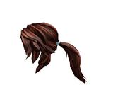 Brunette Action Ponytail
