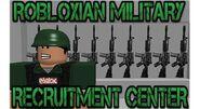 Robloxian Military Recruitment Center