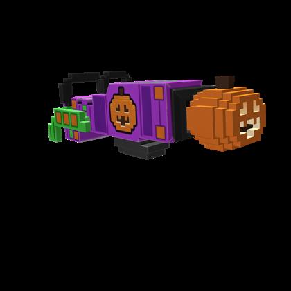 8-Bit Pumpkin Launcher