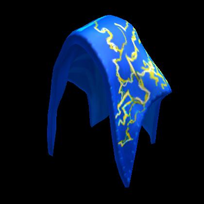 Blue Lightning Hood