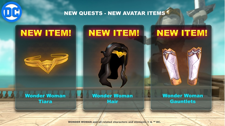 Smurfs Backpack Gives Free Robux Wonder Woman The Themyscira Experience Roblox Wikia Fandom