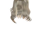Catalog:Blonde Fashion Model Side-Part