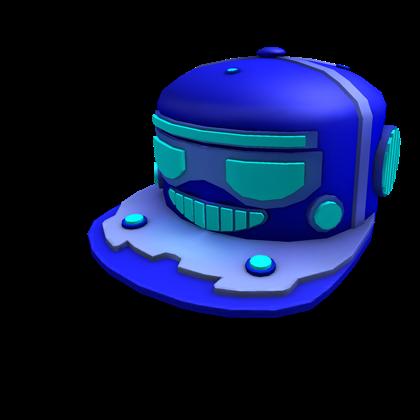 Blue Robo Cap