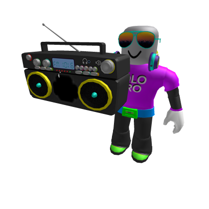 Neon Party Guy