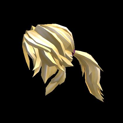 Blonde Action Ponytail
