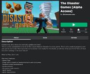 Disastergame