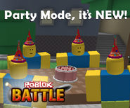 Roblox Battle Join The Party ad 2
