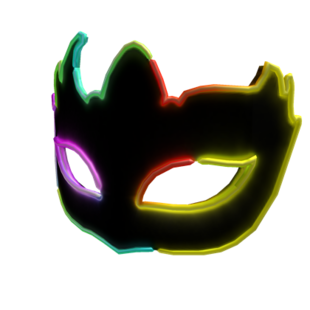 Neon Party Mask