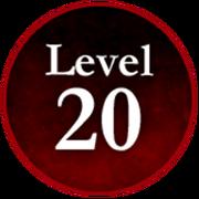 Survive the Killer! Level 20 Badge.png