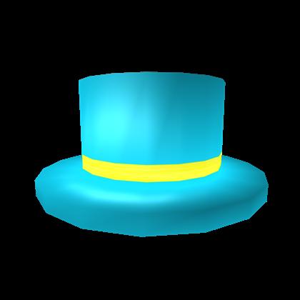 Teal Top Roblox Catalog Blue Top Hat Roblox Wikia Fandom