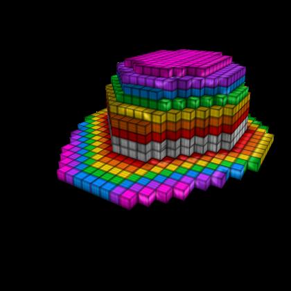 8-Bit Rainbow Bowler