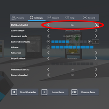 How To Get Shift Lock On Roblox Computer Shift Lock Roblox Wikia Fandom
