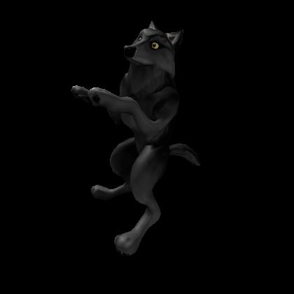Black Shoulder Wolf