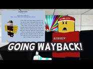2008 ROBLOX PLAYER GOES WAY BACK...