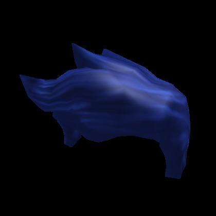 True Blue hair
