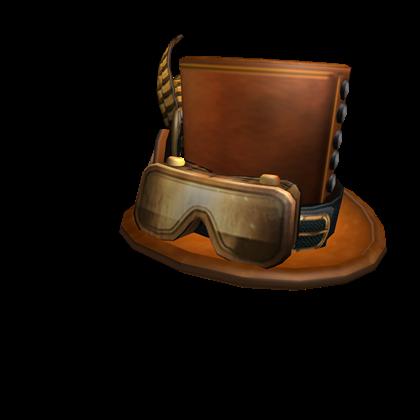Bronzepunk Top Hat