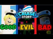 Roblox Cruise Story - All 3 Endings