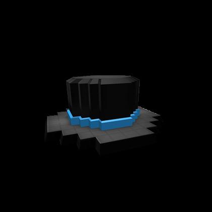 8-Bit Blue Banded Top Hat