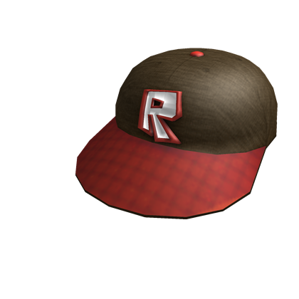 Red Roblox Cap