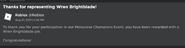 Wren Brightblade Message