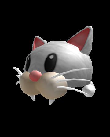 White Kitty Beanie Roblox Catalog White Krazy Kitty Roblox Wikia Fandom