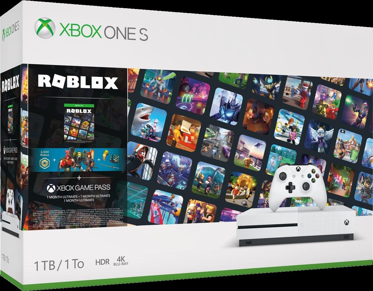 When Was Roblox Released On Xbox Xbox One S Roblox Bundle Roblox Wikia Fandom
