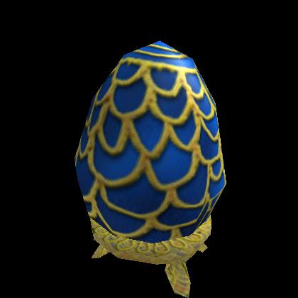 Blue Fabergé Egg