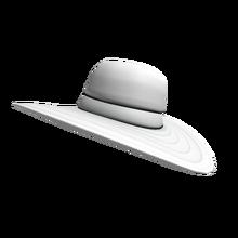 White Summer Hat - Zara Larsson.png