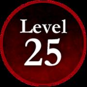 Survive the Killer! Level 25 Badge.png