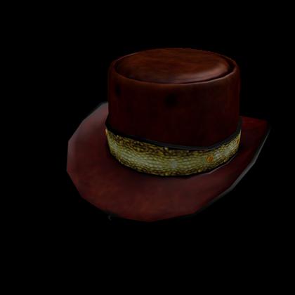 Alligator Skin Top Hat