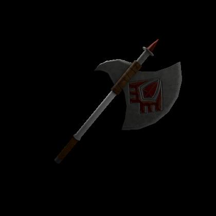 War Axe Roblox Catalog Knights Of Redcliff Battle Axe Roblox Wikia Fandom