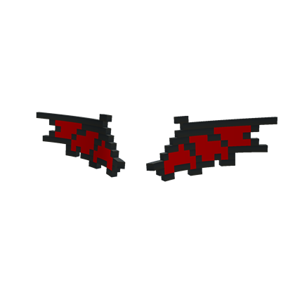 Crimson Dragon 8-Bit Wings