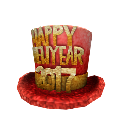 2017 New Year's Hat