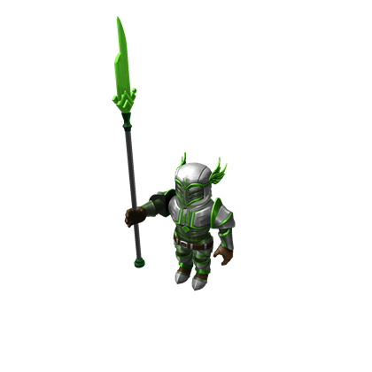 Emerald Knights of the Seventh Sanctum Lancer