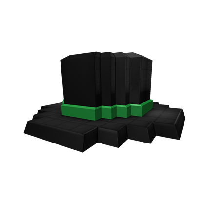 8-Bit Green Banded Top Hat