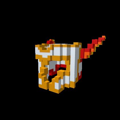 8-Bit Phoenix Winged Knight Helmet