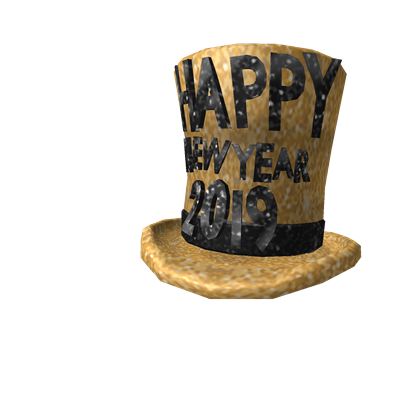 2019 New Year's Hat
