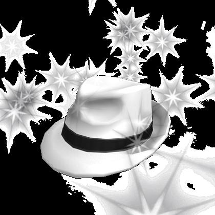 Black Sparkle Time Fedora Roblox Catalog Boss White Hat Roblox Wikia Fandom