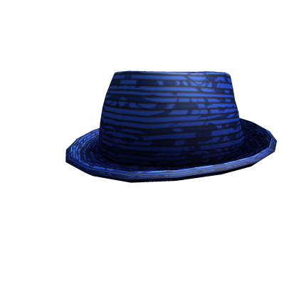 Sophisticated Blue Fedora
