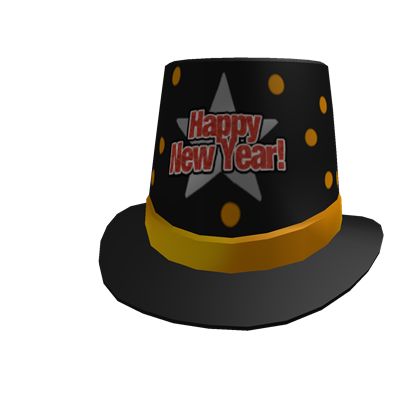 2014 New Years Top Hat