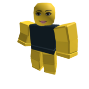 Yellow Roundy Womanface Colorbot