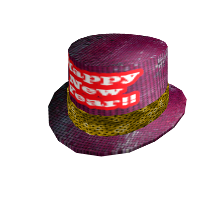2011 New Year's Top Hat