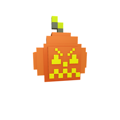 8-Bit Jack O Lantern