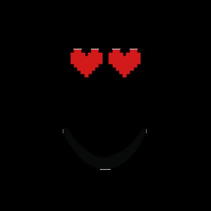 8-Bit Heart Face