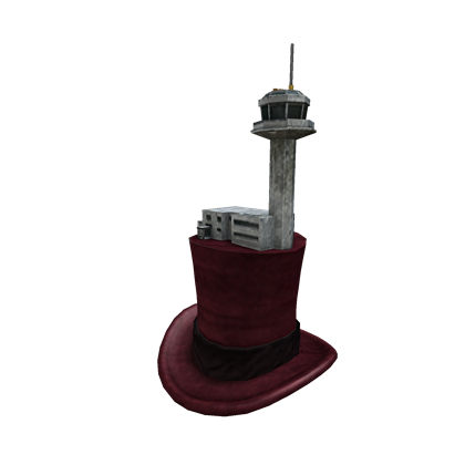 Air Traffic Control Tower Top Hat