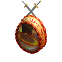 Sword Fight on the Heights Sugar Egg.png