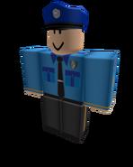Police officer 2D