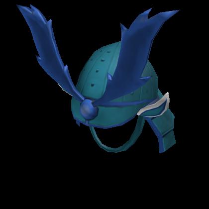 Blue Butterfly General Helmet