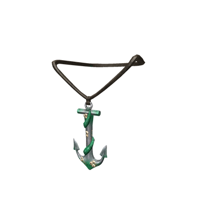 Barnacle Anchor Necklace
