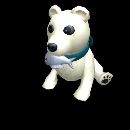 Baby Polar Bear Shoulder Friend